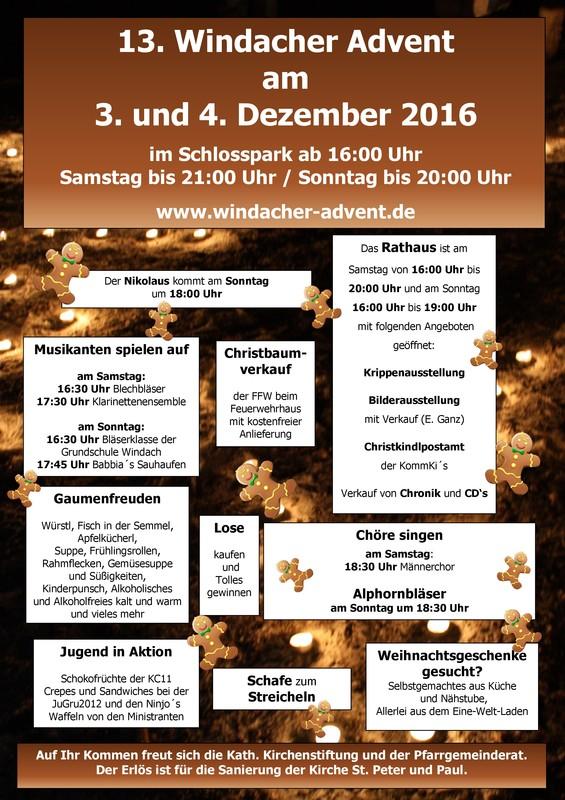 WindacherAdvent2016_Plakat