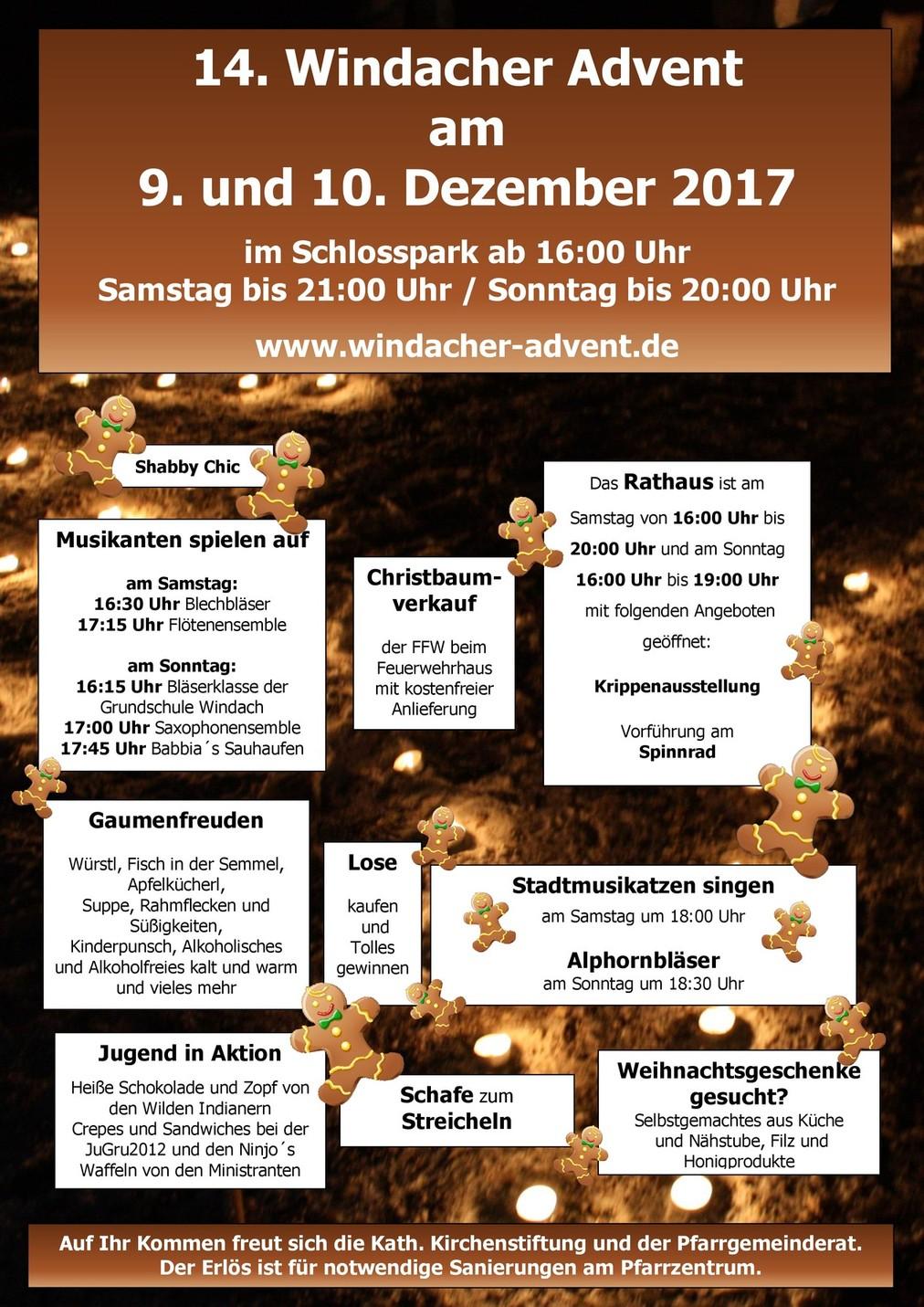 WindacherAdvent2017_Plakat